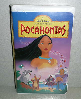 Masterpiece Collection Walt Disney's POCAHONTAS VHS TAPE *Sealed Unused