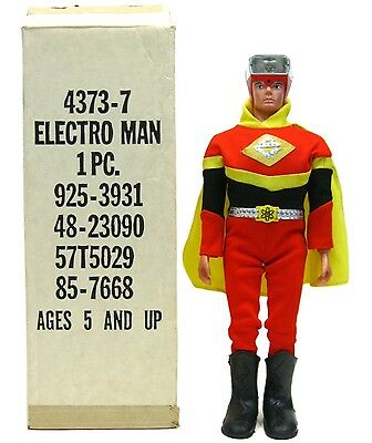 Vintage 1977 Ideal Electroman Robot Zogg Hero B/O Space Toy Mint w/Box MIB Works