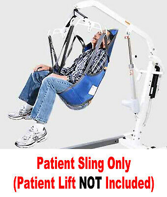 Patient Support - NEW Patient Lift Sling WITH HEAD SUPPORT Use W/ HOYER And Most All Lifts