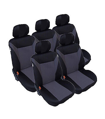 Sitzbezüge Sitzbezug Schonbezüge für Citroen Nemo Rot Sportline Komplettset