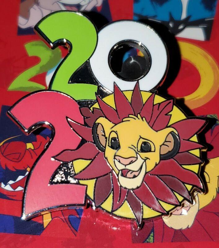 Disney Pin Simba 2020 Logo Pin Lion King FREE SHIP AUTHENTIC