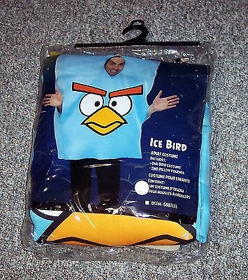 Adult ICE BIRD Angry Bird Halloween Costume Dress Up EUC