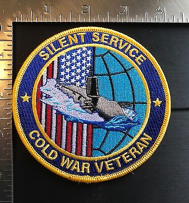 USN COLD WAR SILENT SERVICE (SUBMARINE) VETERAN PATCH