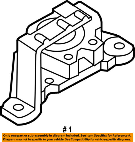 Mazda Oem 11 13 3 Engine Motor Mount Torque Strut Bbm239060a