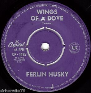 FERLIN-HUSKY-Wings-Of-A-Dove-Next-To-Jimmy-1960s-OZ-45