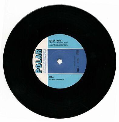 ABBA Polar Music Vinyl 7 Inch Single Honey Honey/Ring Ring