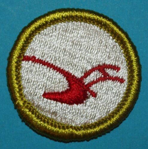 AGRICULTURE TYPE G MERIT BADGE  - CLOTH BACK -  BOY SCOUTS -   Y317
