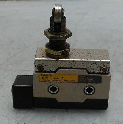 Omron Micro Limit Switch, D4MC, Used, WARRANTY