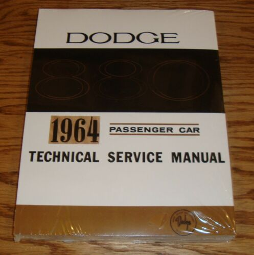 1964 Dodge 880 Technical Service Shop Manual 64