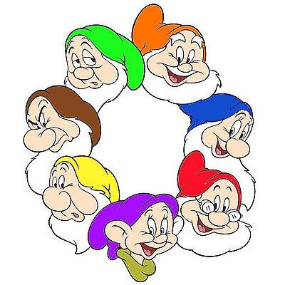 7 Dwarf Hats for Seven Dwarves Dress up Snow White Full Set great 4 Disney trip