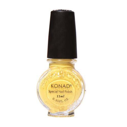 Konad Stamping Nail Art S05 Pastel Yellow 11ml Special Polish Diy