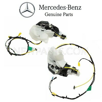 For Mercedes W220 S-Class Rear Pair Set of 2 Door Lock Vacuum Motors OES