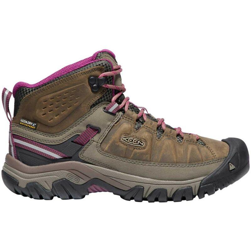 Keen Targhee Iii Mid Wp Womens Boots Walking - Weiss Boysenberry All Sizes
