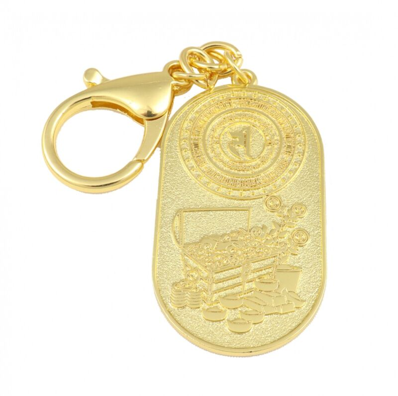 Wealth Income-Generating Keychain Amulet