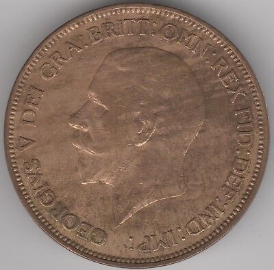 1936 George V One Penny | British Coins | Pennies2Pounds (2)
