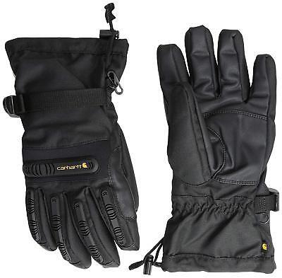 NEW Carhartt Men's Impact Gauntlet Winter Glove - Black - L XL - Gauntlet Gloves