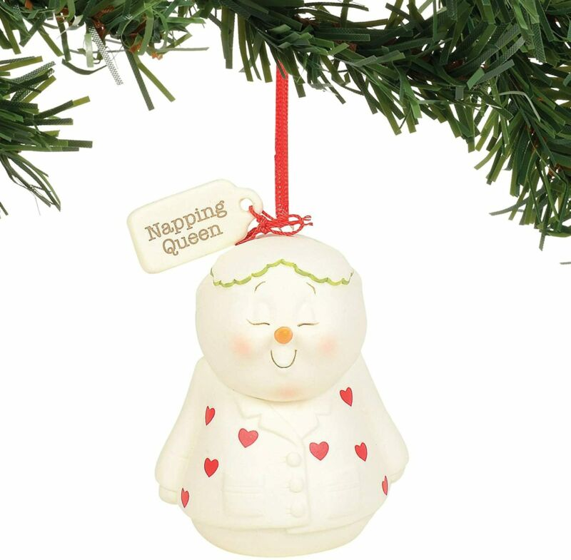 Department 56 Snowpinions Napping Queen Hanging Ornament