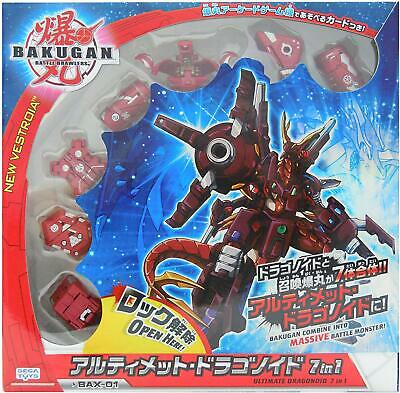 SEGA Toys Bakugan Battle Brawlers 7-in-1 Maxus Dragonoid Ultimate Monster
