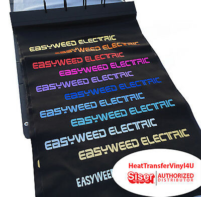 Siser Easyweed Electric Iron On Htv 15 X 12 1 Foot Select Your Colors