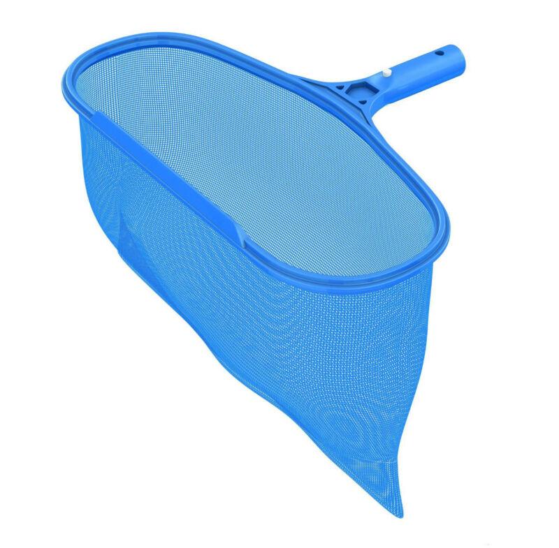 Pool Spa Skimmer Leaf Rake with Ultra Durable Deep Net & Sturdy Polymer Frame