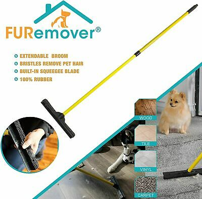 Animal Fur Sweeper Broom For Pet Dog Cat Hair Removal Broom Carpet Wet Floor Mop
