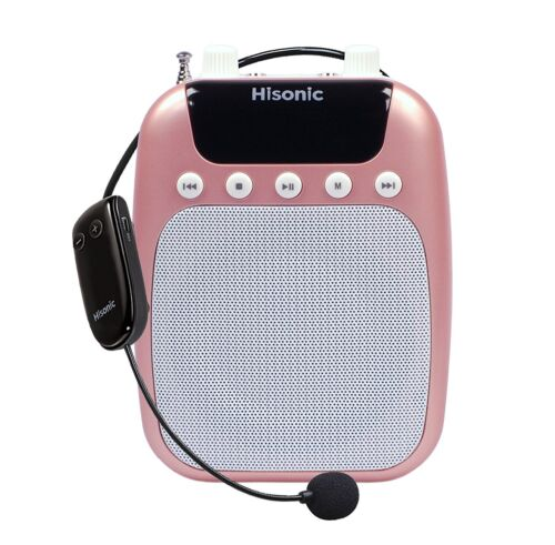 Hisonic HS320 10 Watts Rechargeable Voice Amplifier with UHF Wireless Headset