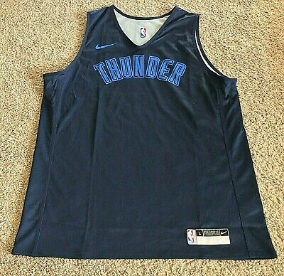Nike Authentic NBA OKC Thunder Reversible Practice Jersey - Men's L - New