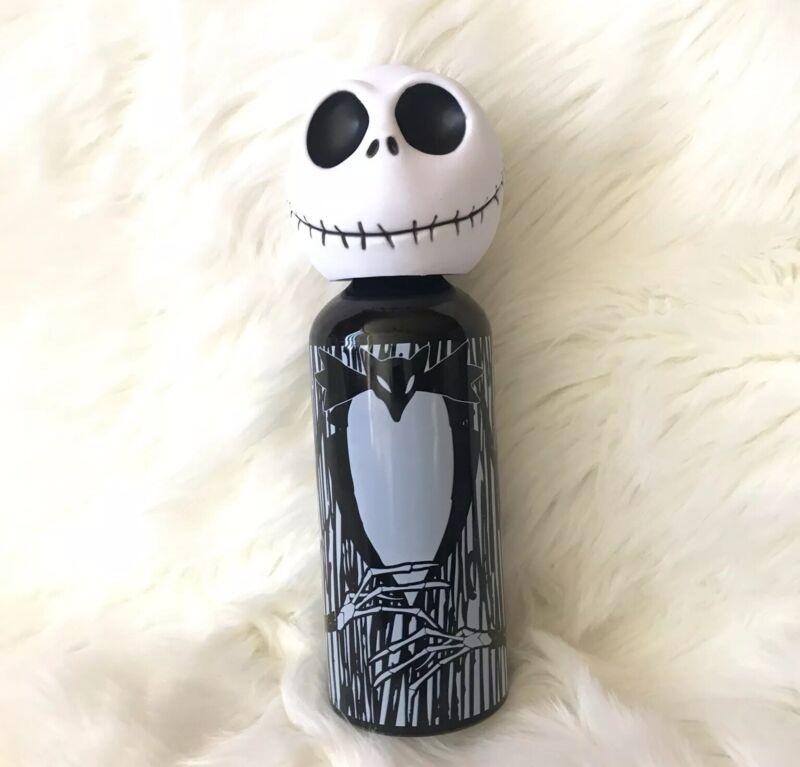 Disney Jack Skellington Water Bottle Tim Burton Nightmare Before Christmas