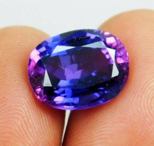 Natural 9.40 Ct Oval Shape Rarest Purple Taaffeite Loose Gemstone
