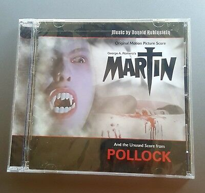 MARTIN soundtrack cd by Donald Rubinstein from the George A.Romero film