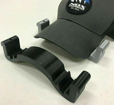 Hat Bill Bender - 3D Printed NEW - Baseball Cap Brim Curver Shaper - Black