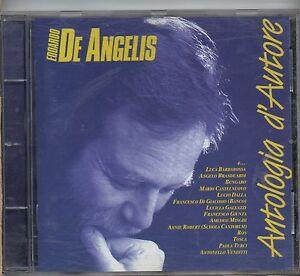 EDOARDO-DE-ANGELIS-CD-ANTOLOGIA-D-039-AUTORE-Lucio-Dalla-Paola-Turci-Branduardi-1997
