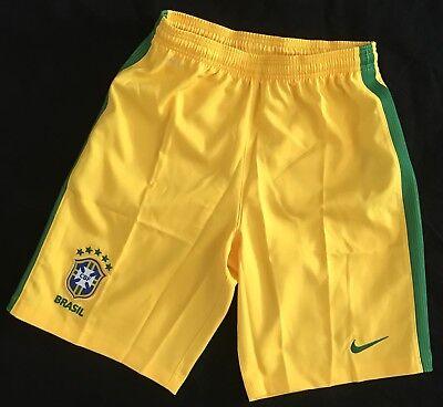 Nike Kinder Jungen  Fussball Shorts Brasilien Trainingshose Shorts 158 - 170 cm ()