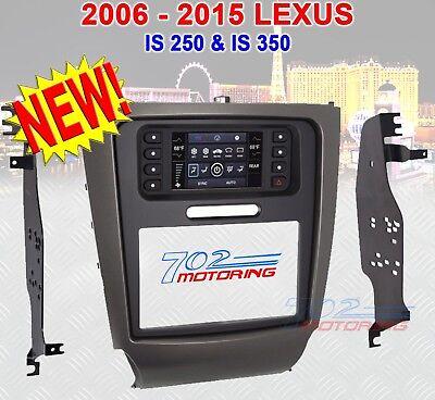 METRA 99-8163  06 - 13 SELECT LEXUS IS250 IS350 IS SERIES DASH KIT BEZEL DBL (Dbl Din Dash Kit)