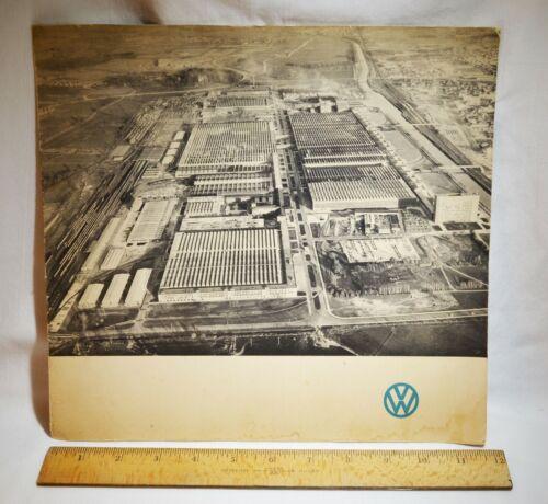 """Volkswagen Wolfsburg Factory Germany Art Folder """"Besuch in Wolfsburg 1962"""""""