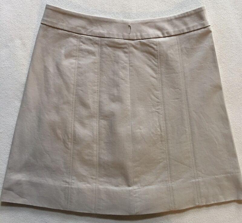 Woman's White House Black Market A-line Skirt