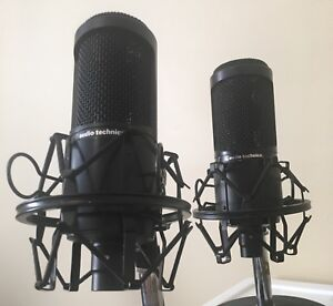 Stereo pair of Audio Technica AT2020