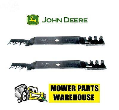 2 REP JOHN DEERE GATOR MULCHING BLADES M170642 X330 X350 X354 X370 X380 42