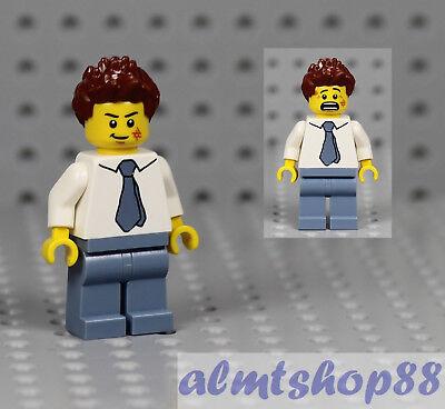 HAIR Lego M006 Male Unisex Magenta Pink Spiked Mohawk Genuine Lego Punk Rocker