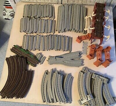 Thomas The Train Plastic Tan Replacement Train Tracks Large Lot