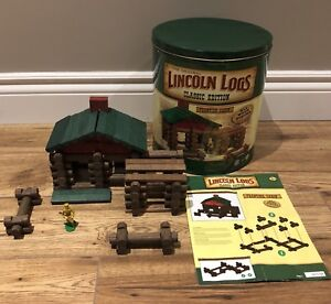 LINCOLN LOGS set Frontier Day $30