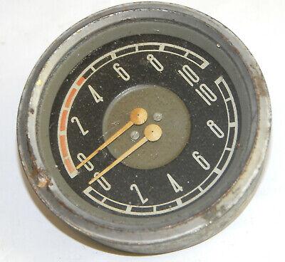 Vintage Ussr Air Pressure Gauge Manometer For Trucks Industrial Steampunk