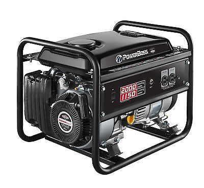 Briggs & Stratton PowerBoss 30665 1150W Portable Gas Powered RV Home Generator