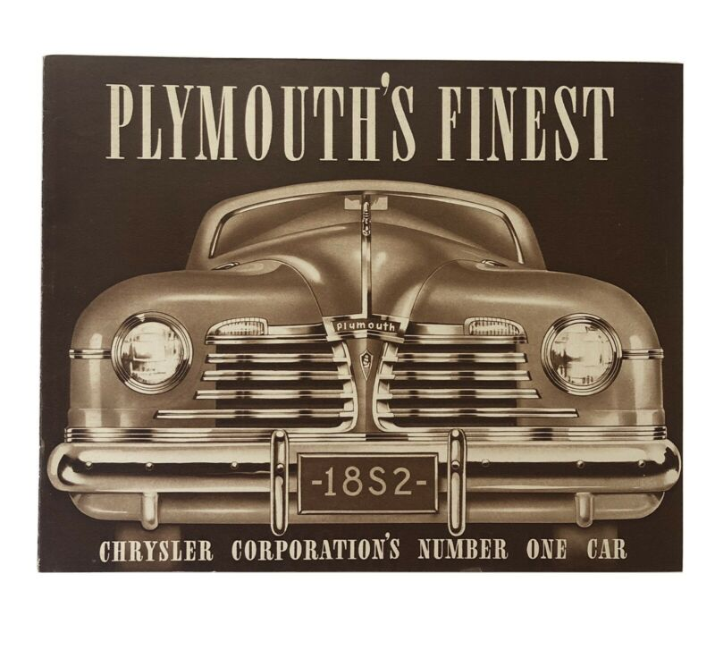 1942 Plymouth Truck Brochure beautiful New Old Stock