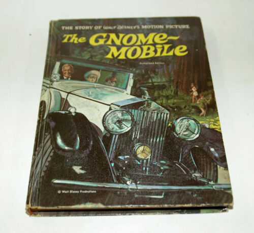 Walt Disney The Gnome Mobile Hardcover Book 1967 Authorized Edition
