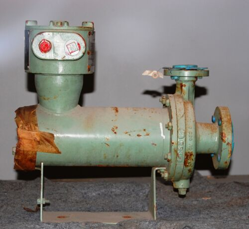 "Sundstrand Canned Can Pump With Motor 2"" X 1"" H22b-a3chf01a1,  5.3 Gpm"