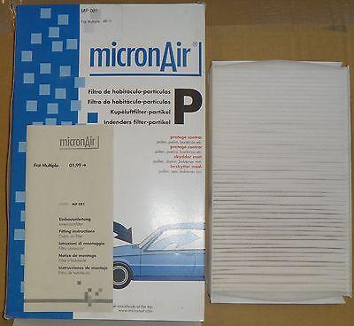 MICRONAIR CABIN POLLEN FILTER  TO FIT FIAT MULTIPLA <em><em>AL</em>...