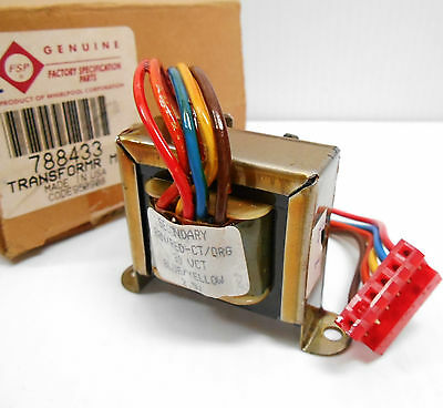 GENUINE WHIRLPOOL 788433 MICROWAVE OVEN LOW VOLTAGE TRANSFORMER