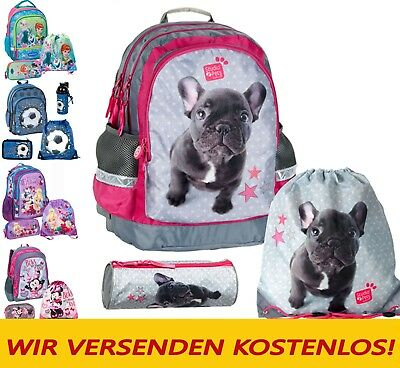 SET Schulrucksack Disney FROZEN Ranzen Tasche Mädchen Jungen Rucksack