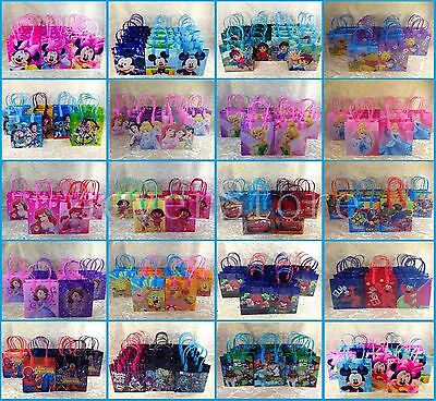 NEW DISNEY NICKELODEON GOODIE BAGS PARTY FAVOR BAGS GIFT 24X BAGS BIRTHDAY